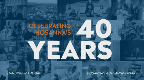 Celebrating Hosanna